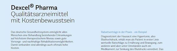Dexcel® Homepage