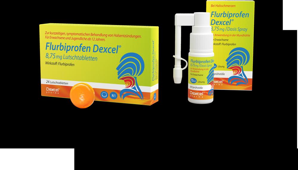 Flurbiprofen Dexcel<sup>®</sup>