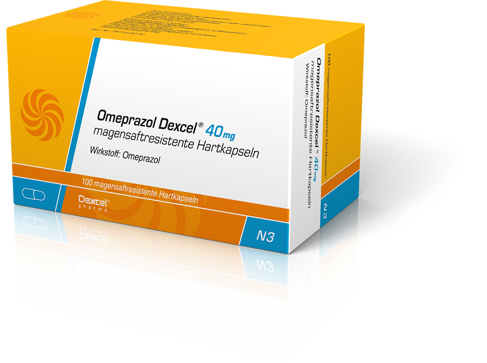 Omeprazol Dexcel<sup>®</sup>
